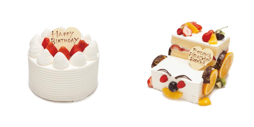 デコレーションケーキ、ホールケーキ
